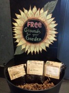 Free Starbucks Grounds for Your Garden