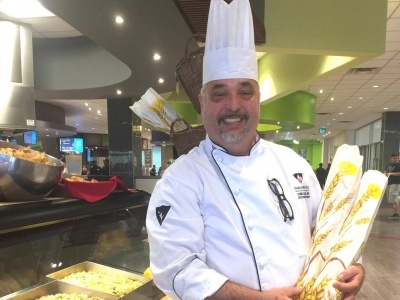 Photo for the news post: An Interview With The Caf's Executive Chef