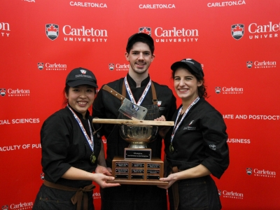 Photo for the news post: Carleton University Wins 7th Annual Inter-University Student Iron Chef Competition!