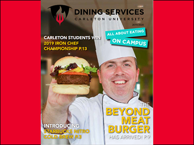 Photo for the news post: The 2019 Dining Services Magazine is here!
