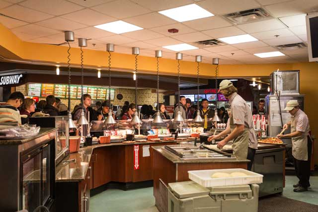 Food Court Locations Dining Services
