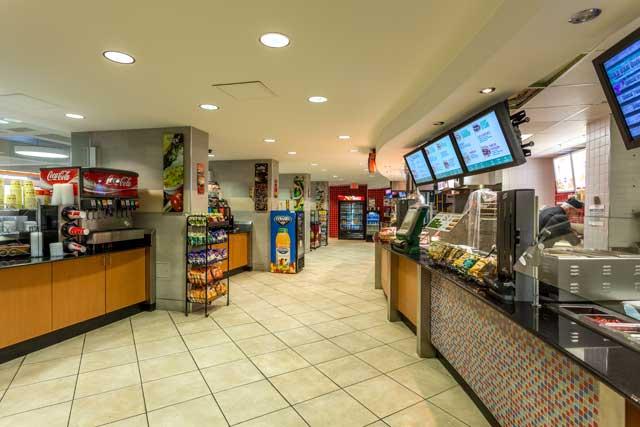 Inside Loeb Cafe