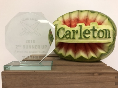 Photo for the news post: Carleton Places 3rd in Iron Chef Competition Against Ottawa U, McGill, and More!