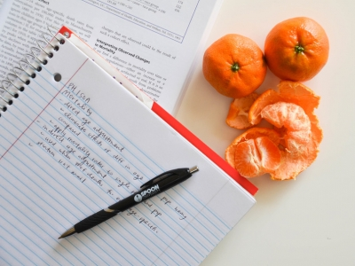 Photo for the news post: 5 Study Snacks to Help Feed Your Brain